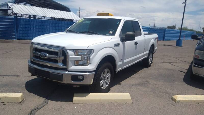 2016 Ford F-150 for sale at CAMEL MOTORS in Tucson AZ