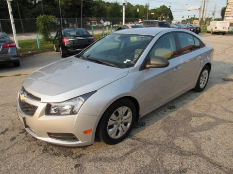2013 Chevrolet Cruze for sale at King of Auto in Stone Mountain GA