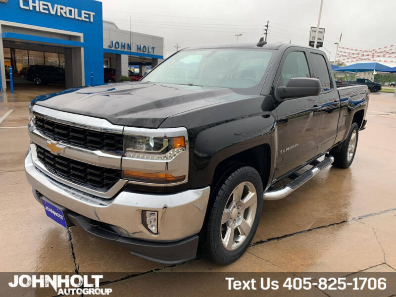 2018 Chevrolet Silverado 1500 for sale at JOHN HOLT AUTO GROUP, INC. in Chickasha OK
