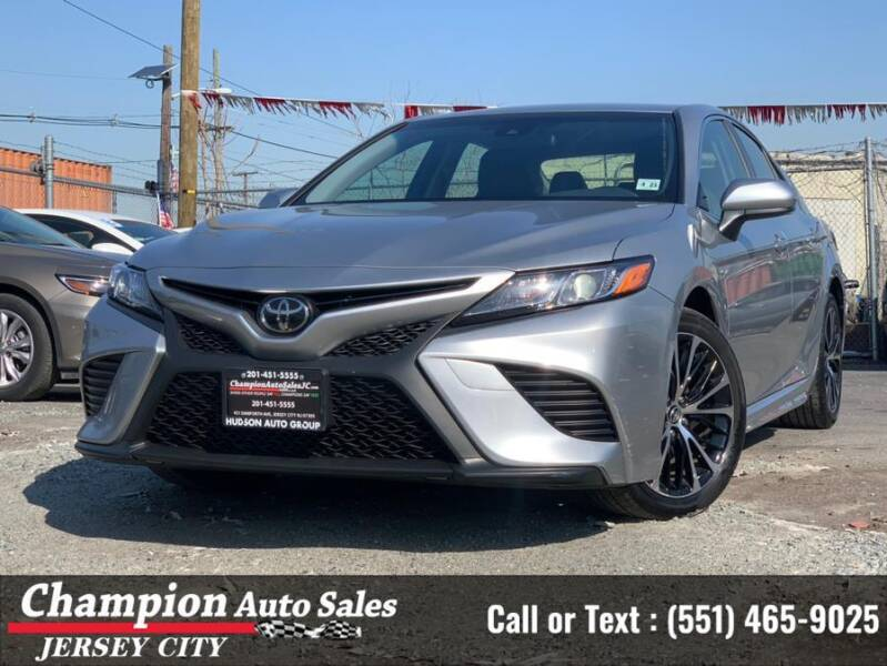 2018 Toyota Camry for sale at CHAMPION AUTO SALES OF JERSEY CITY in Jersey City NJ