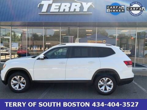 2019 Volkswagen Atlas for sale at Terry of South Boston in South Boston VA