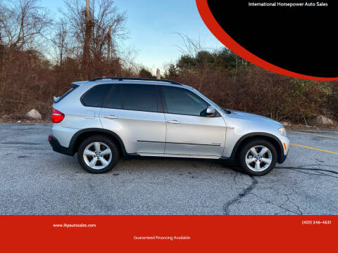 2009 BMW X5 for sale at International Horsepower Auto Sales in Warwick RI