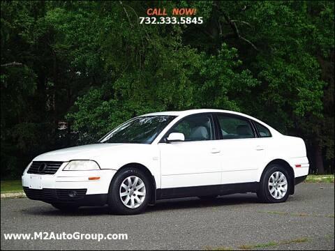 2003 Volkswagen Passat for sale at M2 Auto Group Llc. EAST BRUNSWICK in East Brunswick NJ