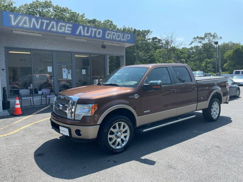 2012 Ford F-150 for sale at Vantage Auto Group in Brick NJ