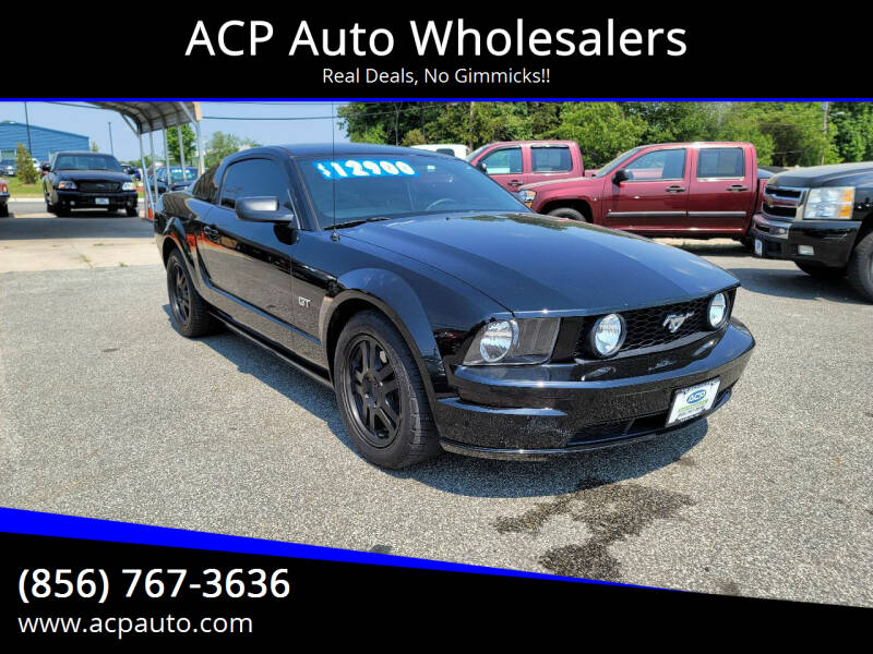 2007 Ford Mustang for sale at ACP Auto Wholesalers in Berlin NJ