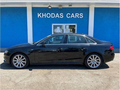 2012 Audi A4 for sale at Khodas Cars in Gilroy CA