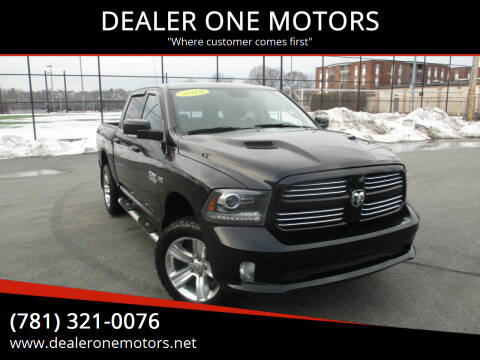 2014 RAM Ram Pickup 1500 for sale at DEALER ONE MOTORS in Malden MA