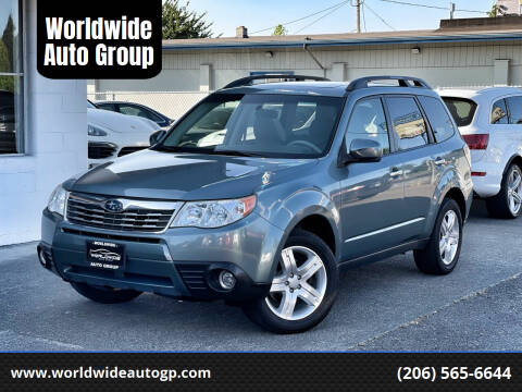 2009 Subaru Forester for sale at Worldwide Auto Group in Auburn WA