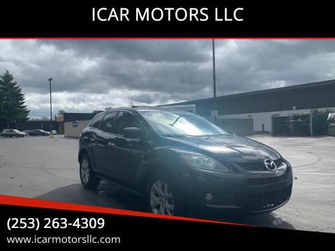 2007 Mazda CX-7 for sale at ICAR MOTORS LLC in Federal Way WA