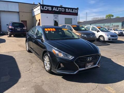 2018 Hyundai Sonata for sale at Lo's Auto Sales in Cincinnati OH