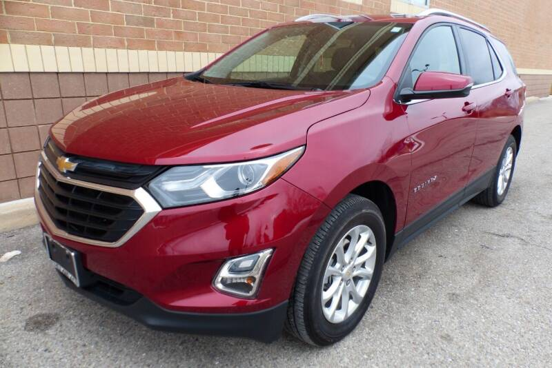 2018 Chevrolet Equinox for sale at Macomb Automotive Group in New Haven MI