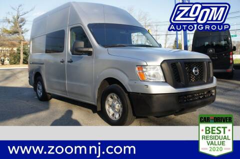 2012 Nissan NV Cargo for sale at Zoom Auto Group in Parsippany NJ