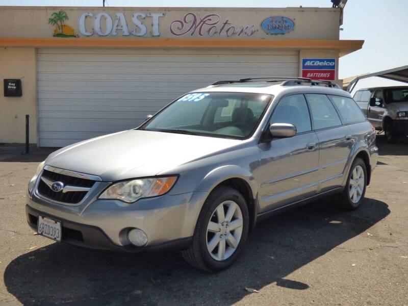 2008 Subaru Outback for sale at Coast Motors in Arroyo Grande CA
