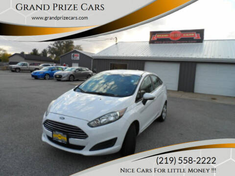 2015 Ford Fiesta for sale at Grand Prize Cars in Cedar Lake IN