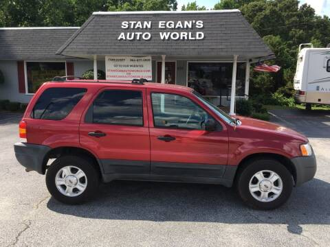2003 Ford Escape for sale at STAN EGAN'S AUTO WORLD, INC. in Greer SC