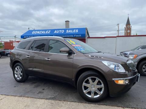 2010 Buick Enclave for sale at Gonzalez Auto Sales in Joliet IL