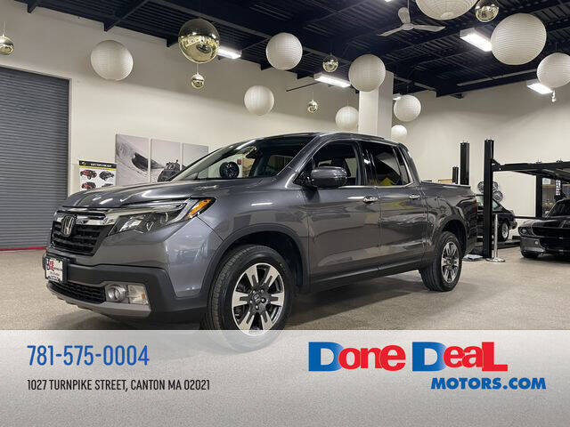 2017 Honda Ridgeline for sale at DONE DEAL MOTORS in Canton MA