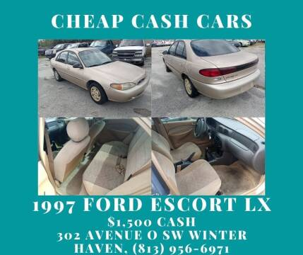 1997 Ford Escort for sale at ROCKLEDGE in Rockledge FL
