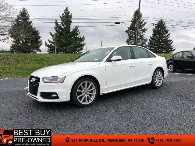2014 Audi A4 for sale at Best Buy Pre-Owned in Manheim PA