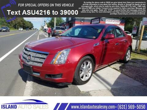 2008 Cadillac CTS for sale at Island Auto Sales in E.Patchogue NY