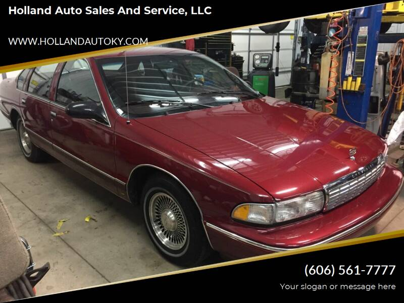 1995 Chevrolet Caprice for sale in Somerset, KY