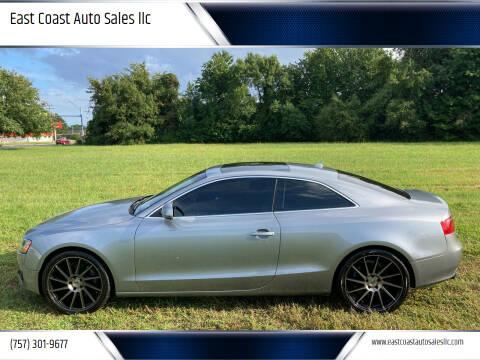 2008 Audi A5 for sale at East Coast Auto Sales llc in Virginia Beach VA