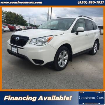 2016 Subaru Forester for sale at CousineauCars.com in Appleton WI