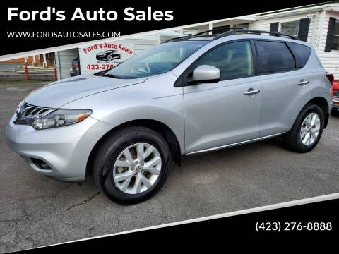 2012 Nissan Murano for sale at Ford's Auto Sales in Kingsport TN