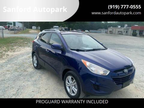 2010 Hyundai Tucson for sale at Sanford Autopark in Sanford NC