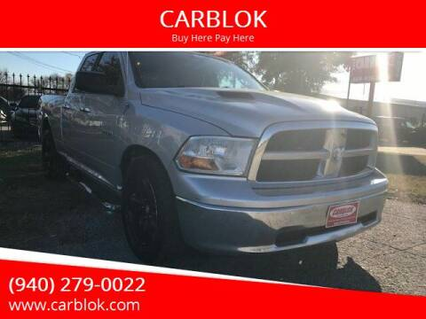 2009 Dodge Ram Pickup 1500 for sale at CARBLOK in Lewisville TX