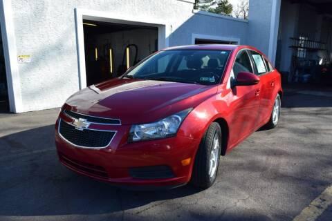 2014 Chevrolet Cruze for sale at L&J AUTO SALES in Birdsboro PA