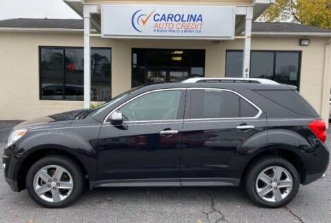 2015 Chevrolet Equinox for sale at Carolina Auto Credit in Youngsville NC