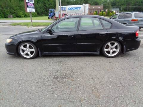 2009 Subaru Legacy for sale at On The Road Again Auto Sales in Lake Ariel PA