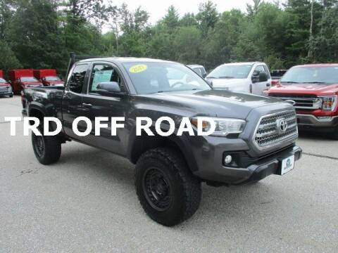 2017 Toyota Tacoma for sale at MC FARLAND FORD in Exeter NH
