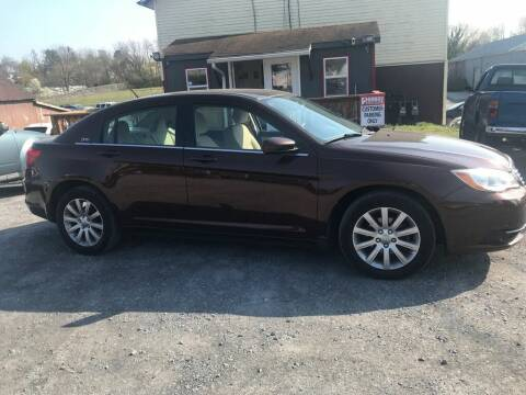 2013 Chrysler 200 for sale at PENWAY AUTOMOTIVE in Chambersburg PA