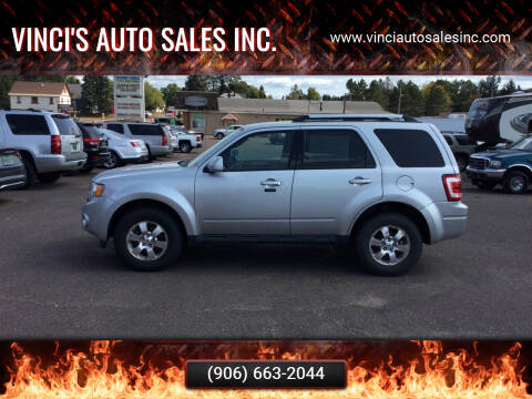 2011 Ford Escape for sale at Vinci's Auto Sales Inc. in Bessemer MI