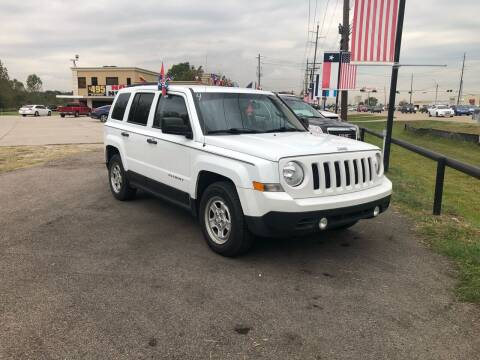 2016 Jeep Patriot for sale at FREDY CARS FOR LESS in Houston TX