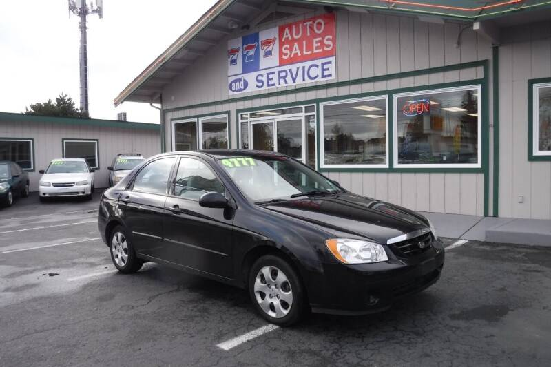2006 Kia Spectra for sale at 777 Auto Sales and Service in Tacoma WA
