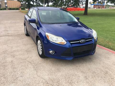 2012 Ford Focus for sale at RP AUTO SALES & LEASING in Arlington TX