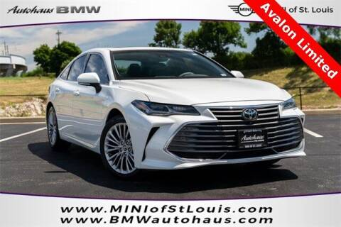 2019 Toyota Avalon for sale at Autohaus Group of St. Louis MO - 40 Sunnen Drive Lot in Saint Louis MO