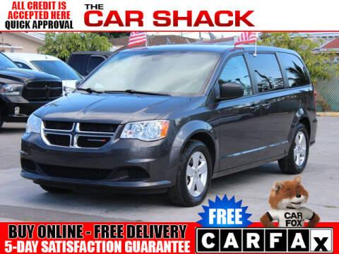 2018 Dodge Grand Caravan for sale at The Car Shack in Hialeah FL
