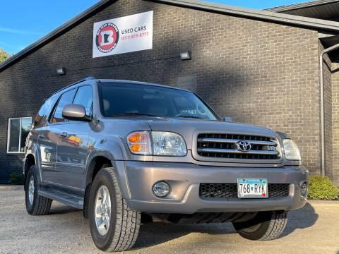 2001 Toyota Sequoia for sale at Big Man Motors in Farmington MN