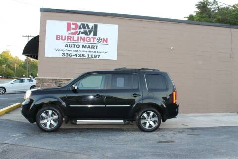 2012 Honda Pilot for sale at Burlington Auto Mart in Burlington NC