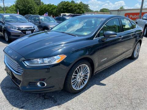 2014 Ford Fusion Hybrid for sale at VENTURE MOTOR SPORTS in Virginia Beach VA