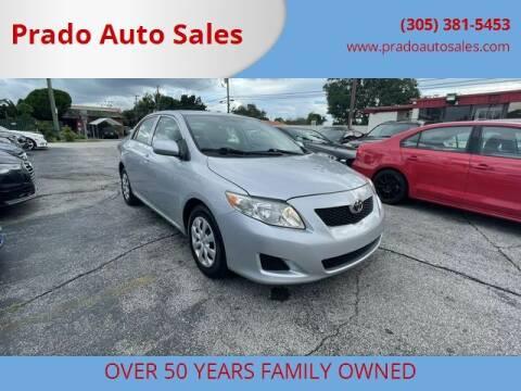 2009 Toyota Corolla for sale at Prado Auto Sales in Miami FL