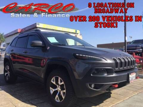 2014 Jeep Cherokee for sale at CARCO SALES & FINANCE in Chula Vista CA