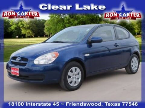 2010 Hyundai Accent for sale at Ron Carter  Clear Lake Used Cars in Houston TX