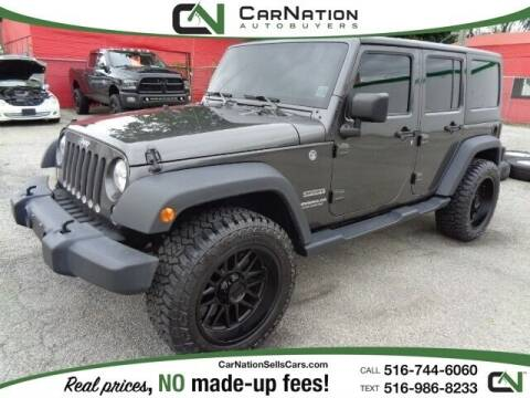 2017 Jeep Wrangler Unlimited for sale at CarNation AUTOBUYERS Inc. in Rockville Centre NY
