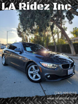 2015 BMW 4 Series for sale at LA Ridez Inc in North Hollywood CA