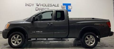 2012 Nissan Titan for sale at Indy Wholesale Direct in Carmel IN